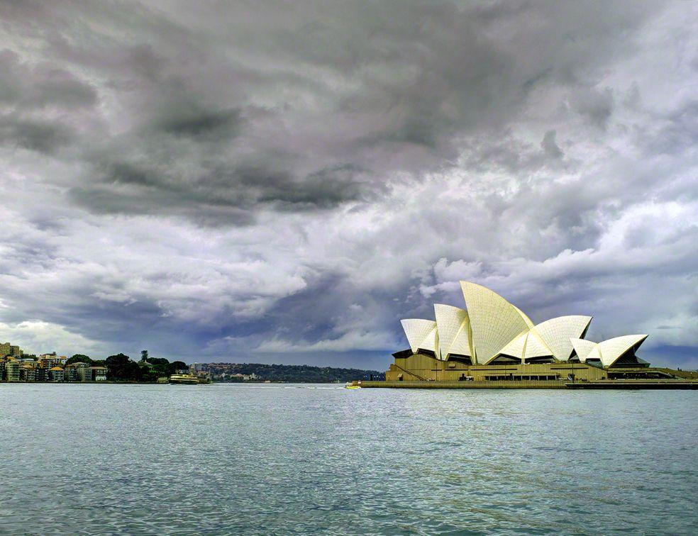 Architekturreise nach Sydney. Im Bild das Sydney Opera House des dänischen Architekten und Pritzker-Architektur-Preisträgers Jørn Utzon. Bild: AZ/Architekturzeitung