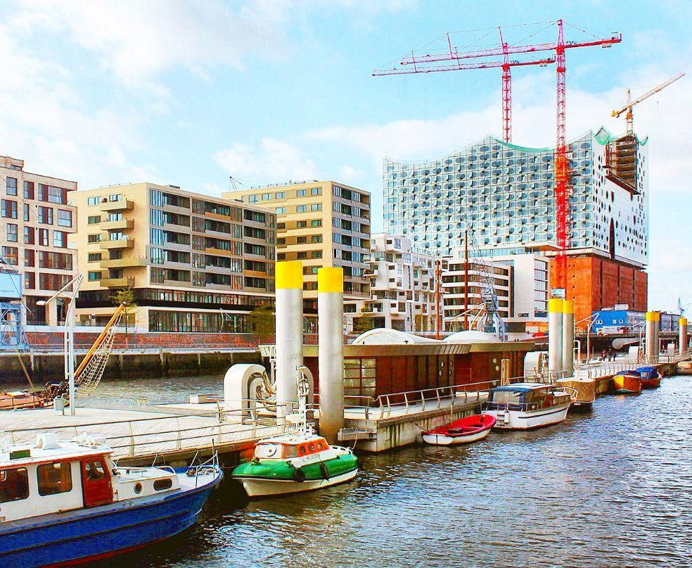 Architekturreise, Kunstreise und Kulturreise durch die Hafencity Hamburg. Bild: AZ/Architekturzeitung