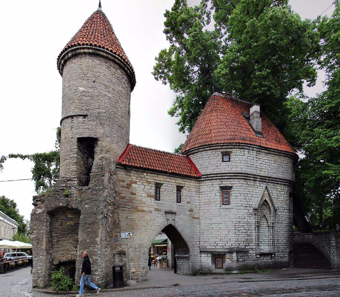 Altes Stadttor in Tallinn, Estland. Bild: AZ/Architekturzeitung