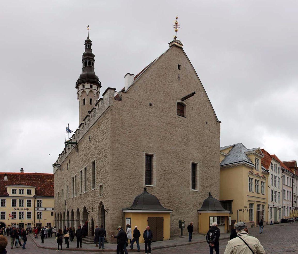 Tallinner Rathaus, Estland. Bild: AZ/Architekturzeitung