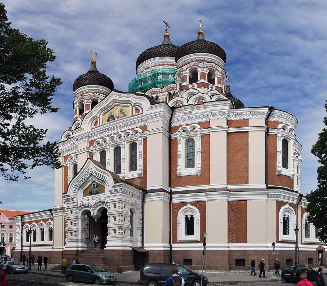 Die Alexander-Newski-Kathedrale in Tallinn, Estland
