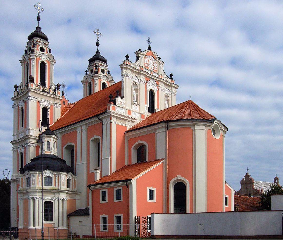 Kirche der Heiligen Katharina in Vilnius, Litauen. Bild: Ventus Reisen