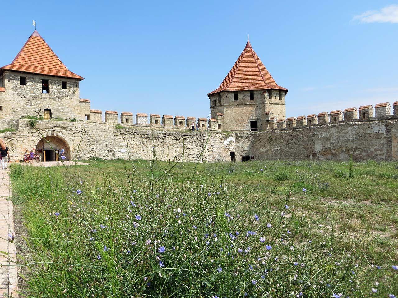 Architekturreise Moldau Transnistrien - Festung Benderi. Bild: Ventus Reisen