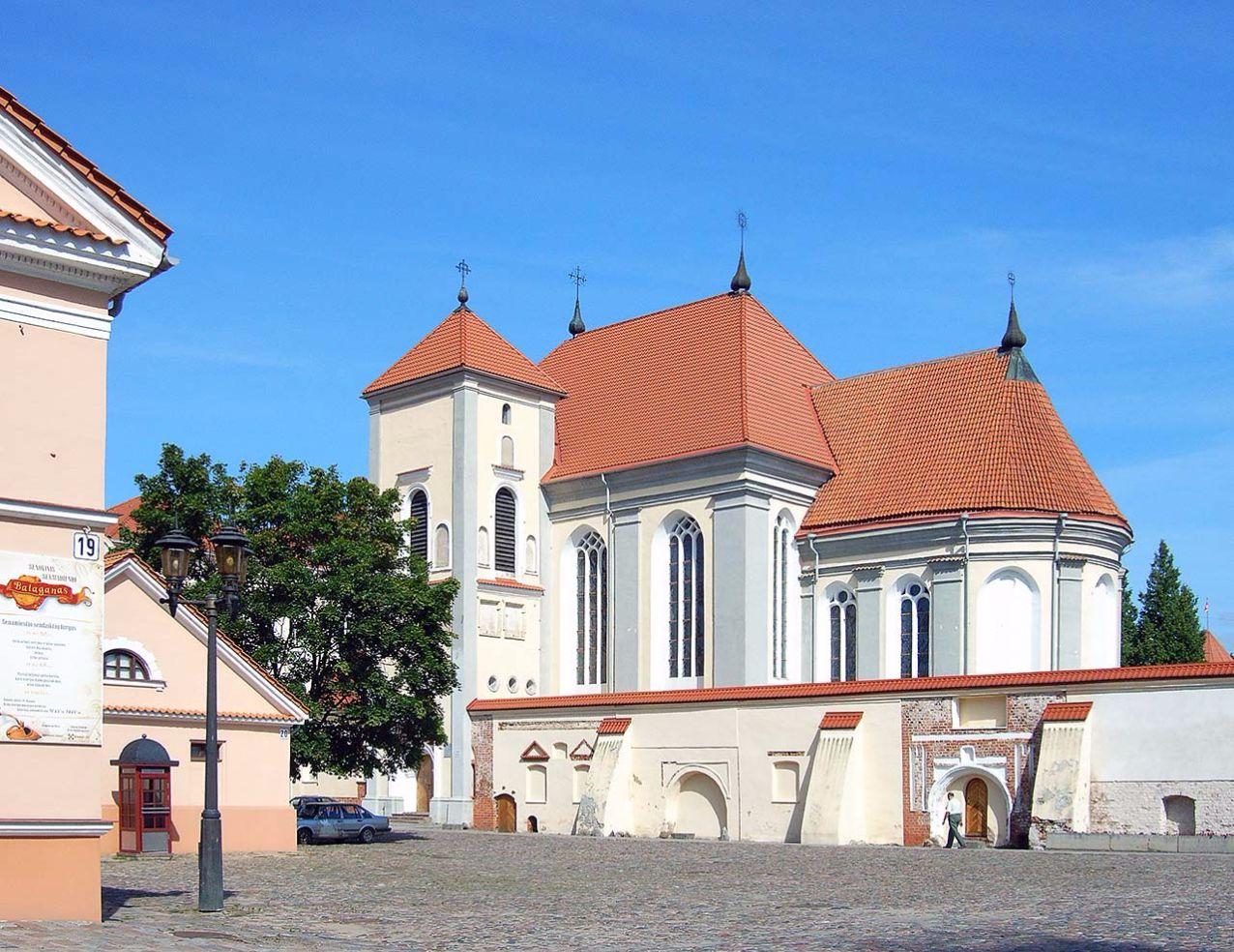 Dreifaltigkeitskirche in Kaunas, Litauen. Bild: Ventus Reisen