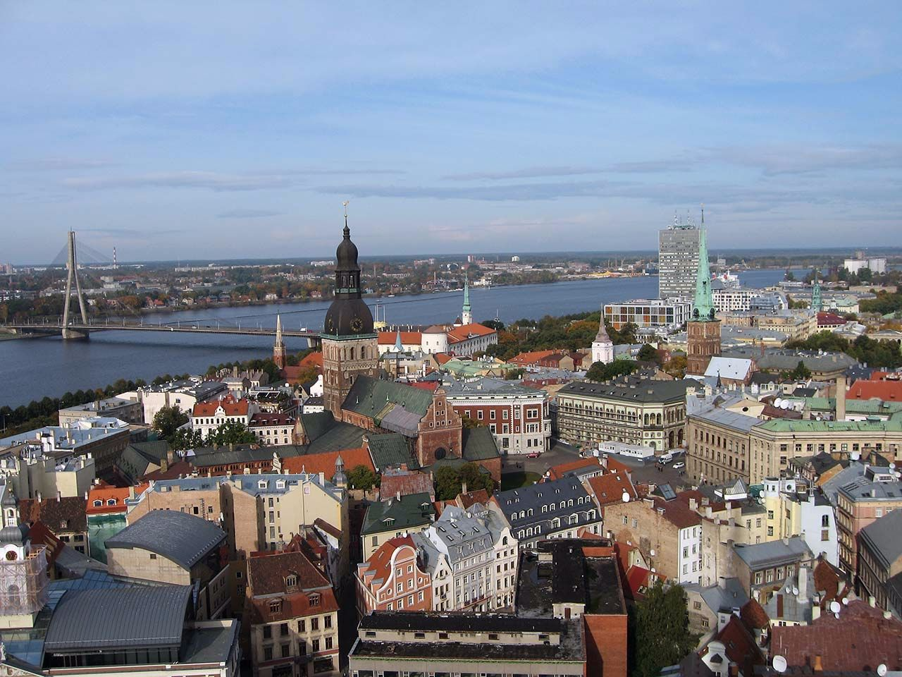 Stadtansicht von Riga, Lettland. Bild: Ventus Reisen