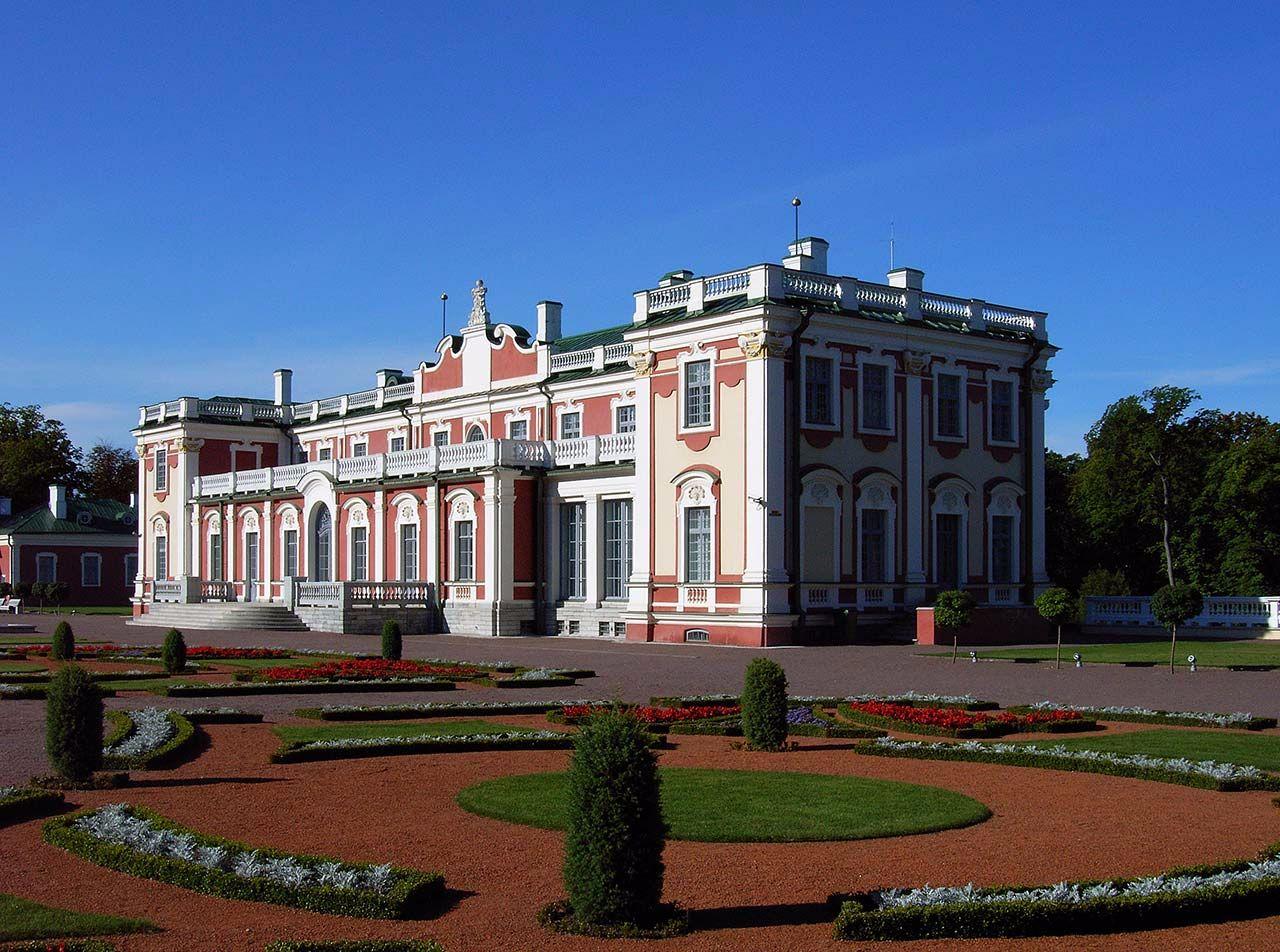 Schloss Kadriorg in Tallinn, Estland. Bild: Ventus Reisen