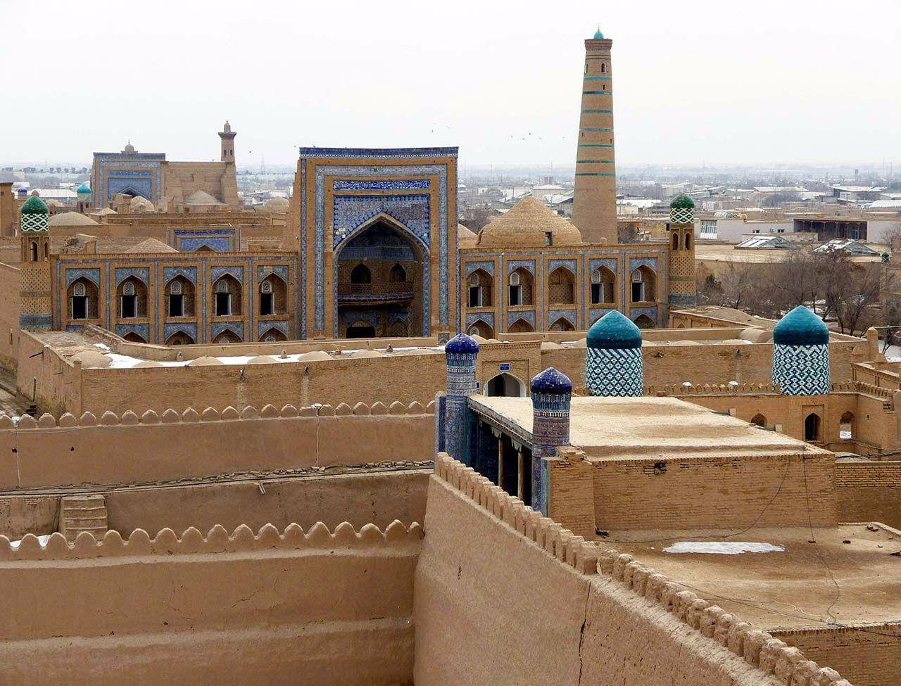 Architekturreise Usbekistan Chiwa. Bild: Ventus Reisen