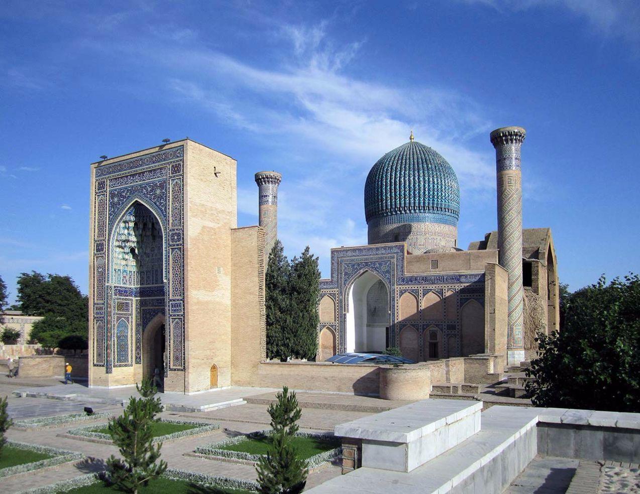 Architekturreise Usbekistan Samarkand. Bild: Ventus Reisen