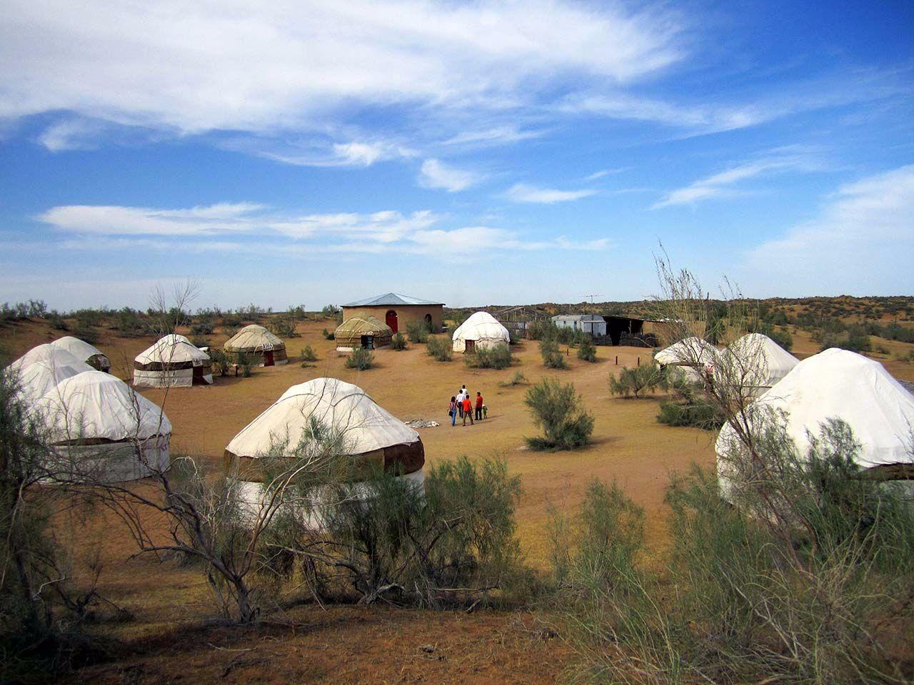 Architekturreise Usbekistan Sentyab Jurtencamp. Bild: Ventus Reisen